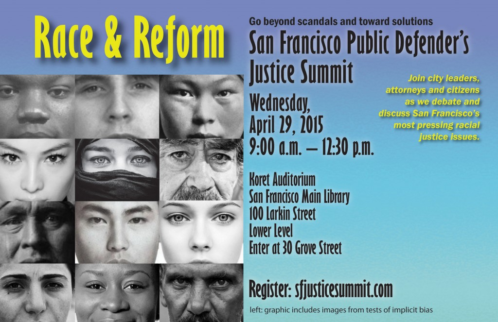 Race & Reform the Focus of April 29 Summit