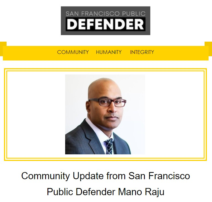 Community Newsletter from Mano Raju