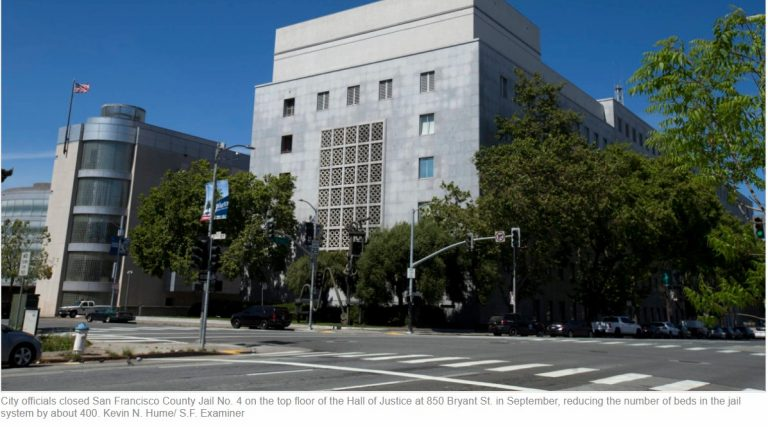 SF Jail Closure Prompts Doctor to Call for Release of More Inmates