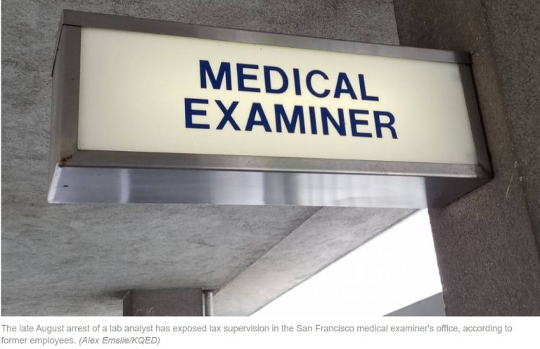 Lots of Drugs, Lax Oversight: Former SF Medical Examiner Staffers Say Lab Analyst's Meth Arrest 'Just the Tip of the Iceberg'