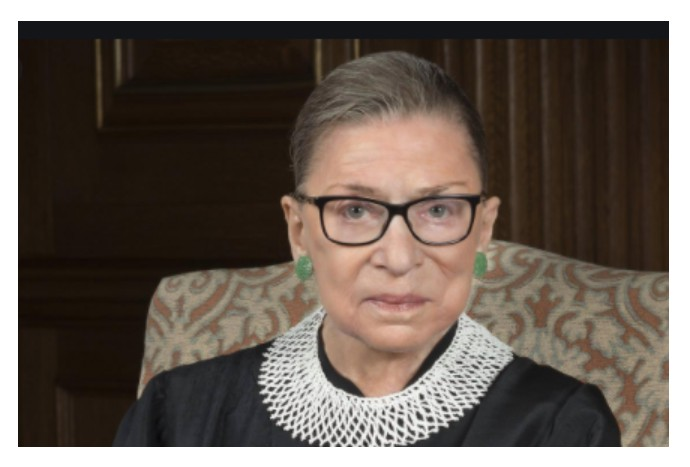 RIP, the Notorious RBG