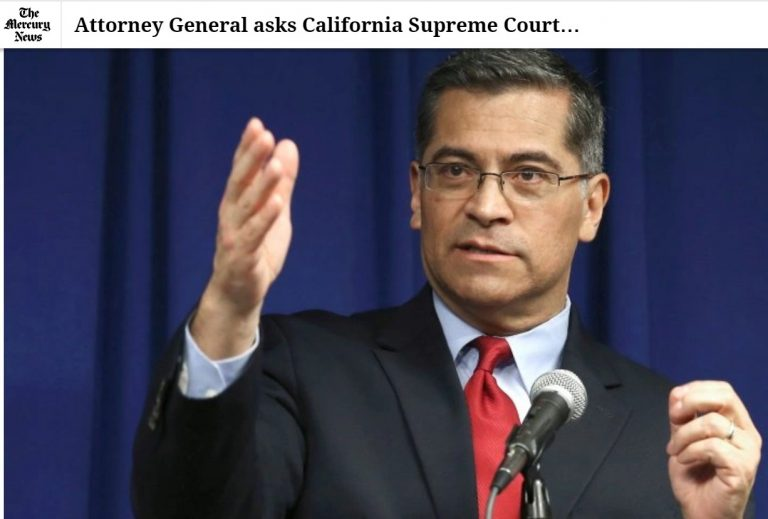 Attorney General asks California Supreme Court to restore Humphrey bail-reform ruling