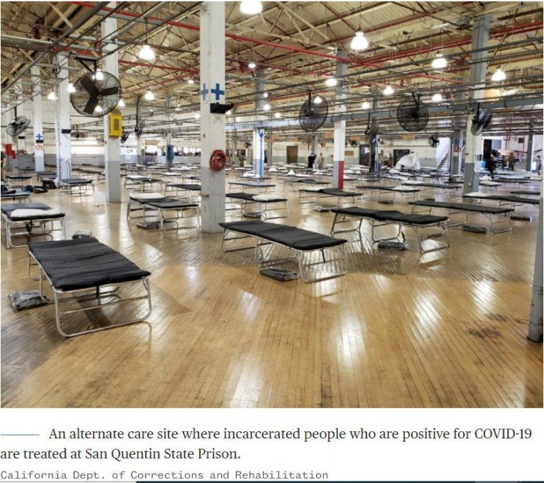 Coronavirus cases, deaths at San Quentin prison blamed on mismanagment